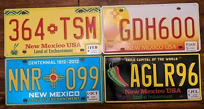 New Mexico Chile capital of the world CENTENNIAL BALLOON YUCCA LICENSE PLATE LOT