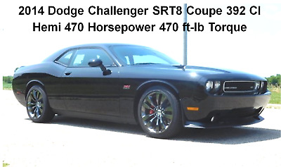 2014 Dodge Challenger SRT8 392 HEMI 2014 Dodge Challenger SRT8 392 Hemi 470 HP Fully Loaded,  Showroom condition