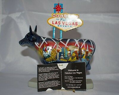 COW PARADE Welcome to Fabulous Las Vegas - NEW IN BOX
