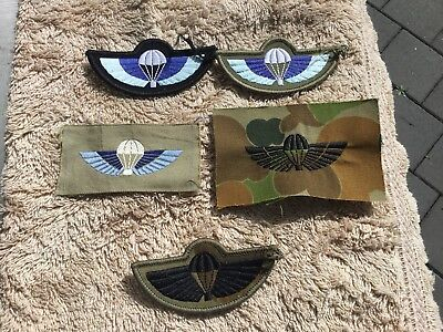 Australian Army Special Air Service Wings Collection