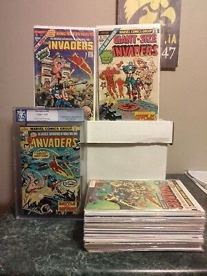 Invaders Complete Set #1-41+ King Size & Giant Size Annual Complete Set Full Run