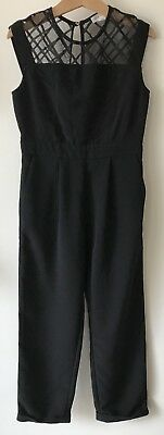 Girls River Island Jumpsuit Playsuit All In One Outfit Age 7 6-7 Years