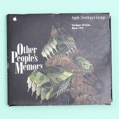 Apple Developer CD Series March 1993: Other People's Memory Mac Software