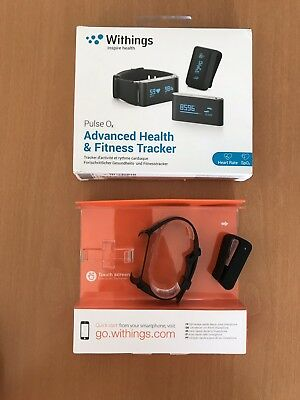 withings pulse oX - ohne Tracker -Armband schwarz / Clip