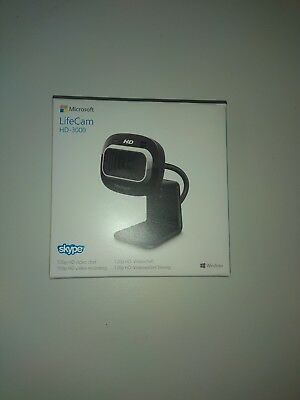Microsoft T3H-00012 LifeCam HD-3000 - Farbe - Audio - Hi-Speed USB Web-Kamera