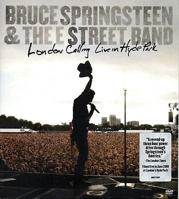 Bruce Springsteen & The E Street Band – London Calling:Live In Hyde - 2DVD 2010