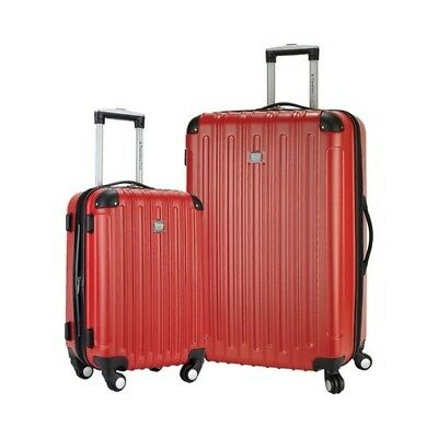 Travelers Club Unisex  Madison 2-Piece Hardside Luggage Set