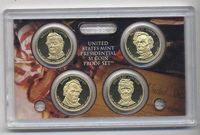 USA United States Mint Presidential $1 Coin Proof Set 2010