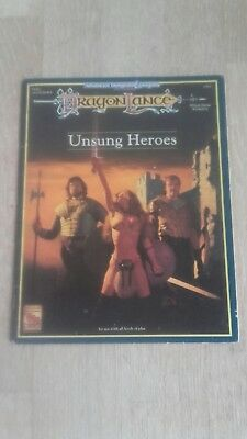 Advanced Dungeons & Dragons (2nd Ed.): DragonLance - Unsung Heroes (DLR3)