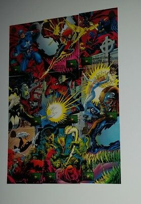 1994 Marvel Universe trading cards 19-27 Maximum Carnage full set of 9 cards
