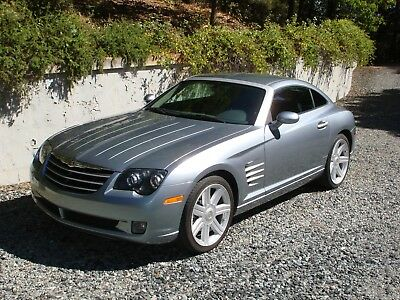 2004 Chrysler Crossfire  2004 CHRYSLER CROSSFIRE: 6 SPEED MANUAL, ONLY 31,200 MILES, SAPPHIRE SILVER BLUE