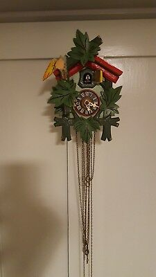 Black forest cuckoo clock for restoration