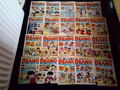 The Beano Comic Joblot x 20 Vintage/Retro All From 1993