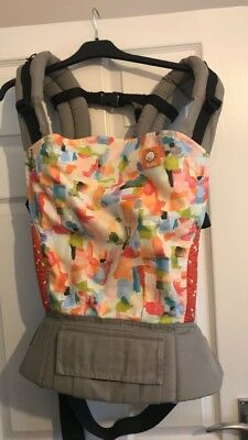 Standard Tula Baby Carrier In Aquarelle