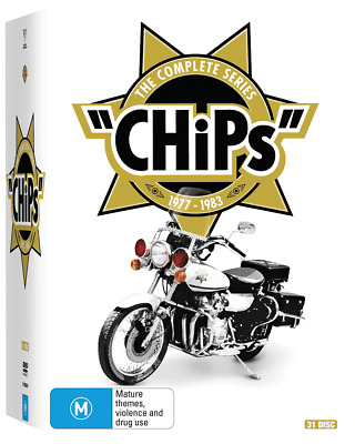 CHiPS Complete Series Box Set 1 2 3 4 5 & 6 BRAND NEW 31 Disc DVD Collection