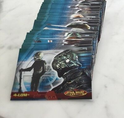 Star Wars evolution collection Topps Trading Cards