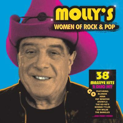 Various Artists - Mollys Women Of Rock and Pop (CD DOUBLE SLIMLINE CASE)