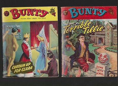 Bunty picture story library for girls No.68 & 71 - Britt Ekland cover photo