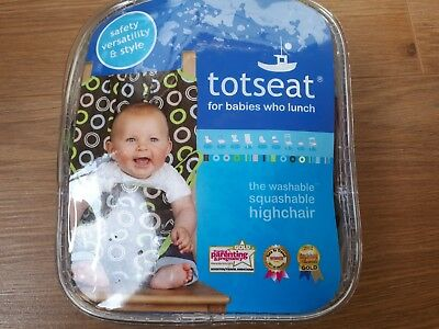*New* Fabric Portable Highchair