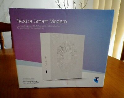 New Telstra Smart Modem ADSL / 2+ / VDSL2 / FIBRE - Brand New & Sealed