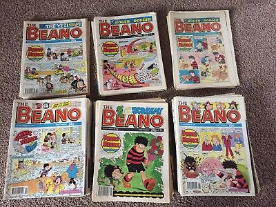Job Lot 138 Beano Comics 1988-1983