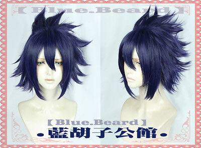 Boku no My Hero Academia Amajiki Tamaki Cosplay Costume Hair Wig Need Style +CAP