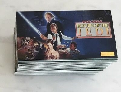 Widevision Return of the Jedi Trading Cards