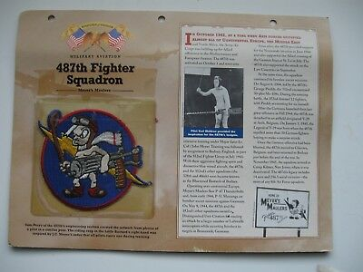 Badges Of Honor Military Aviation Meyer's Maulers 487Th Fighter Squadron Patch