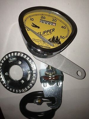 Stewart Warner BICYCLE Speedometer RETRO VINTAGE for 26 Inch bike Schwinn