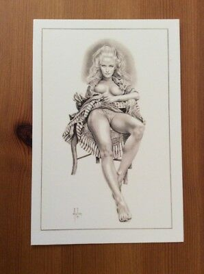 Cpm  Aslan  Pin Up  Numerotee 3 Justine