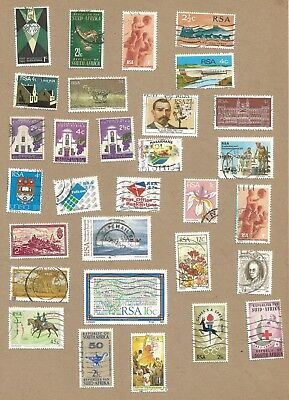 S Africa: 30 diff used + 2 Registered + 2 Commem. Covers (With Info)  (Ref 313)