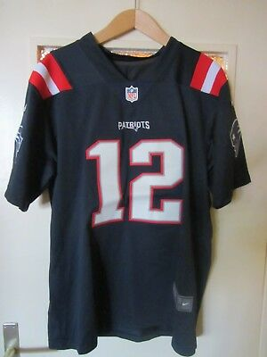 TOM BRADY Color Rush Trikot, orig. Nike, Gr. L, New England Patriots - TB12