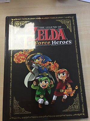 The Legend Of Zelda Triforce Heroes Official Guide Collectors Edition Lösungsbuc