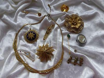 Mixed lot of Vintage Costume Jewellery