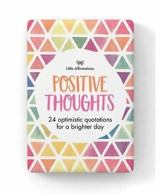 Positive Thoughts Little Affirmations Cards 24 Boxed