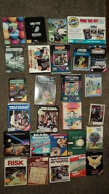 Commodore  128   floppy disks   Games   27 In Boxes