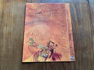 Dark Sun Conspectus - AD&D 2nd Edition TSR