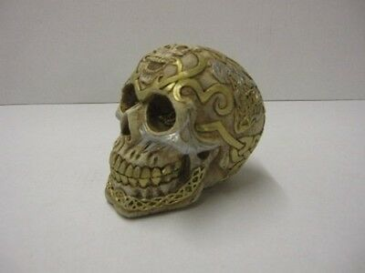 Make your own Celtic Skulls from this highly detailed reusable latex mould.