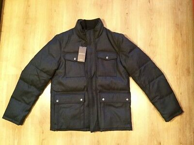 GUCCI men's Down Wool Jacket Puffer. New. Size XL. MADE IN ITALY. RRP €2000