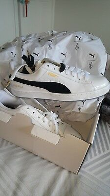 BTS X PUMA Court Star Shoes Sneakers Bangtan Boys White 366202 01 Limited
