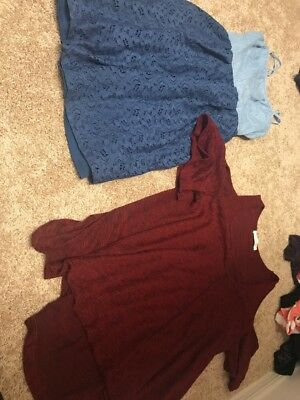 Lot Of 2 Womens Blouses Extra Small New Without Tags Lush Nordstrom
