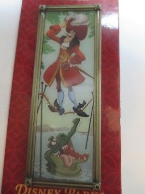 Disney Pin - Haunted Mansion Stretching Portrait of Captain Hook #102750