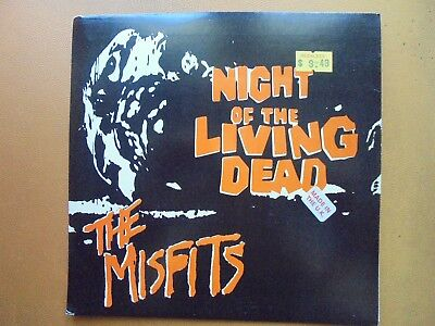 Misfits - Night Of  The Living Dead 7'' Ep 1993 Plan 6 Danzig Samhain