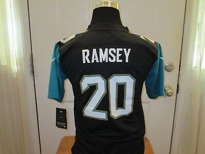 size 40 ceaae 8f072 NEW JALEN RAMSEY #20 Jacksonville Jaguars Youth 8 S Small ...