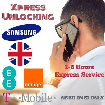 UNLOCK CODE FOR ANY SAMSUNG GALAXY EE T-Mobile Orange UK Express Service