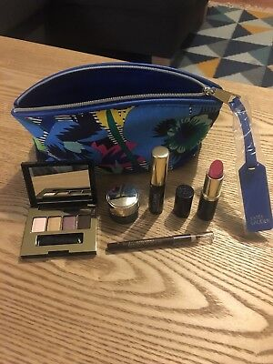 Estee Lauder Makeup Bag with Products New