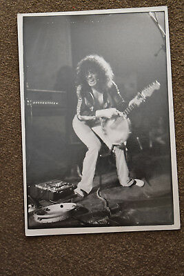Original photo Marc Bolan T.Rex B&W Approx 12 inches x 8 inches