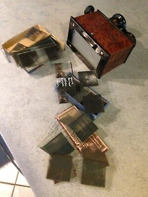 visionneuse,stereoscope+plaques 45x107