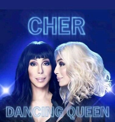Cher CD 2018 Dancing Queen Factory Sealed Album BRAND NEW CRACKED CASE