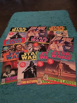 Lot Of Vintage Star Wars Monthly Posters
